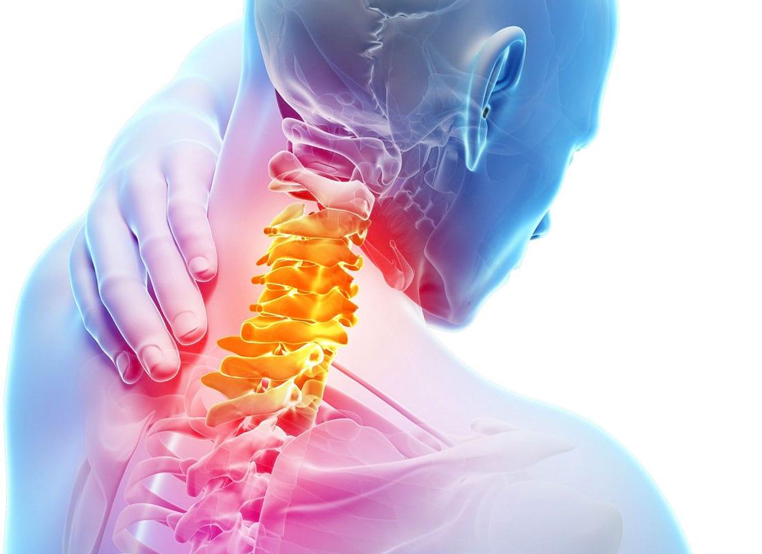 Лечение шейного и грудного остеохондроза.